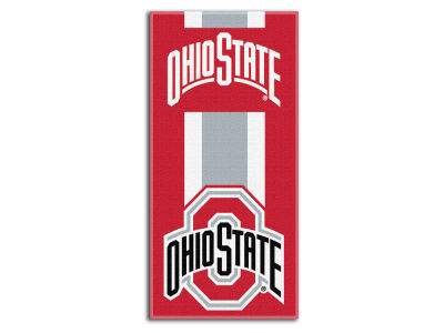 "Ohio State Buckeyes College 30x60 inch Beach Towel ""Zone Read"""