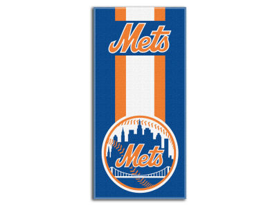 "New York Mets MLB 30x60 Beach Towel ""Zone Read"""