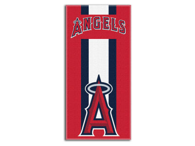 "Los Angeles Angels MLB 30x60 Beach Towel ""Zone Read"""