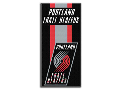 "Portland Trail Blazers NBA 30x60 Beach Towel ""Zone Read"""
