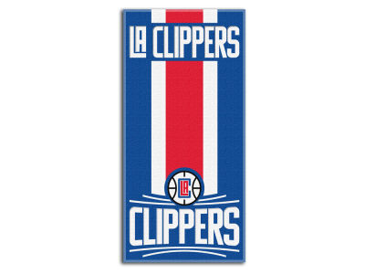 "Los Angeles Clippers NBA 30x60 Beach Towel ""Zone Read"""