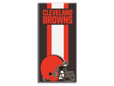 "Cleveland Browns NFL 30x60 inch Beach Towel ""Zone Read"""