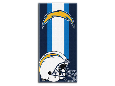 "Los Angeles Chargers NFL 30x60 inch Beach Towel ""Zone Read"""
