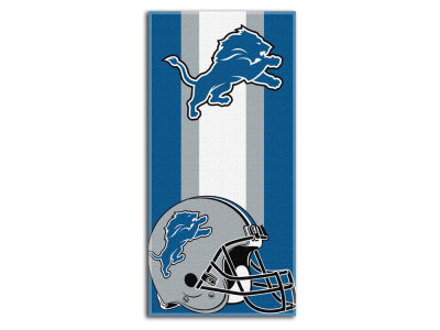 "Detroit Lions NFL 30x60 inch Beach Towel ""Zone Read"""