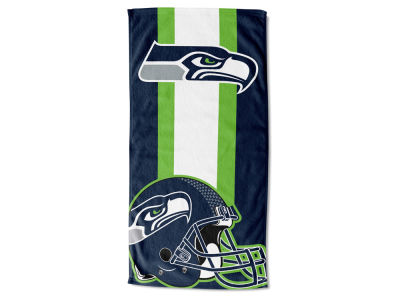 "Seattle Seahawks NFL 30x60 inch Beach Towel ""Zone Read"""