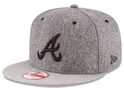 Atlanta Braves New Era MLB 2 Tweed 9FIFTY Snapback Cap