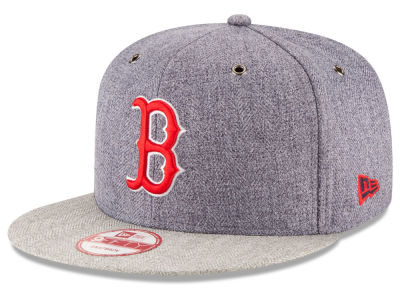 Boston Red Sox New Era MLB 2 Tweed 9FIFTY Snapback Cap