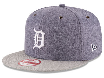 Detroit Tigers New Era MLB 2 Tweed 9FIFTY Snapback Cap