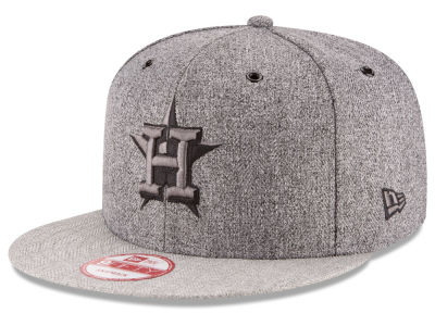 Houston Astros New Era MLB 2 Tweed 9FIFTY Snapback Cap