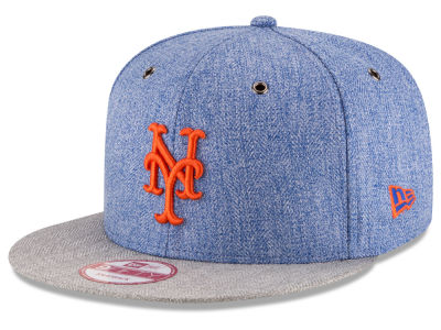 New York Mets New Era MLB 2 Tweed 9FIFTY Snapback Cap