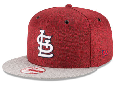 St. Louis Cardinals New Era MLB 2 Tweed 9FIFTY Snapback Cap