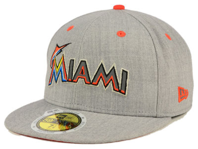 Miami Marlins New Era MLB Total Reflective 59FIFTY Cap