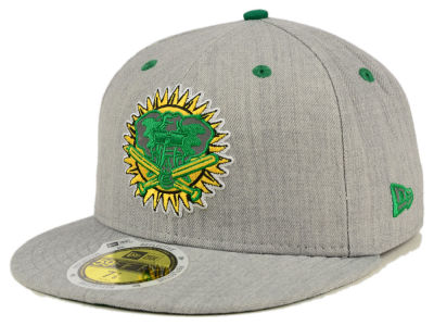Oakland Athletics New Era MLB Total Reflective 59FIFTY Cap