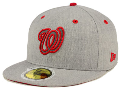 Washington Nationals New Era MLB Total Reflective 59FIFTY Cap