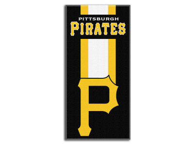 "Pittsburgh Pirates MLB 30x60 Beach Towel ""Zone Read"""