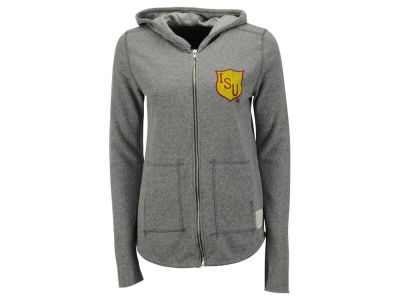 Iowa State Cyclones NCAA Women's Jackie 2-Hit Quad Blend Full Zip Hoodie