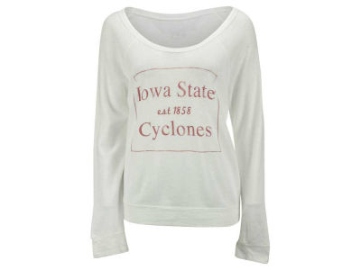 Iowa State Cyclones NCAA Women's Debby Block Quad Long Sleeve T-Shirt
