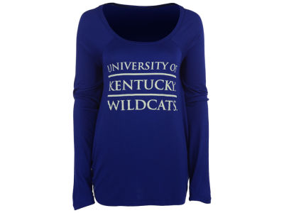 Kentucky Wildcats NCAA Women's Chelsea Stacked Split Back Long Sleeve T-Shirt