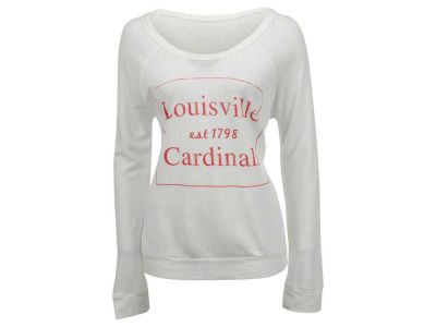 Louisville Cardinals NCAA Women's Debby Block Quad Long Sleeve T-Shirt