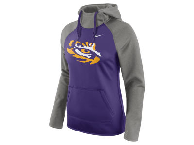 LSU Tigers Nike NCAA Women's Tailgate All Time Pullover Hoodie
