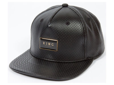 King Apparel Gold Seal Performance Snapback Hat