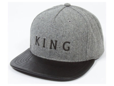 King Apparel Staple Boss Flannel Snapback Hat
