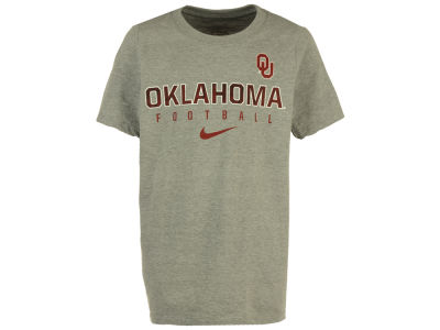 Oklahoma Sooners Nike NCAA Youth Cotton Facility T-Shirt