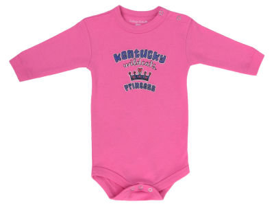 Kentucky Wildcats NCAA Infant Girls Princess Long Sleeve Creeper