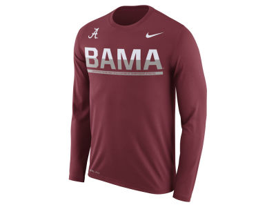 Alabama Crimson Tide Nike NCAA Men's Legend Staff Sideline Long Sleeve T-Shirt