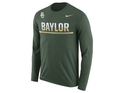 Baylor Bears Nike NCAA Men's Legend Staff Sideline Long Sleeve T-Shirt