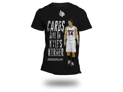 Louisville Cardinals NCAA Men's #KYLESKORNER 3XL-4XL T-Shirt