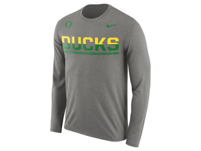 Oregon Ducks Nike NCAA Men's Legend Staff Sideline Long Sleeve T-Shirt