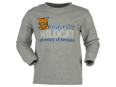 Kentucky Wildcats NCAA Toddler Brave Little Mascot Long Sleeve T-Shirt