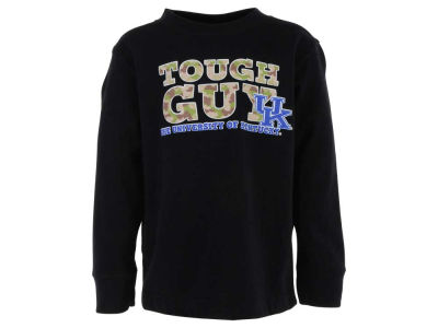 Kentucky Wildcats NCAA Toddler Tough Guy Camo Long Sleeve T-Shirt