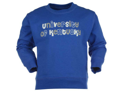 Kentucky Wildcats NCAA Toddler Comic Sans Crew Fleece