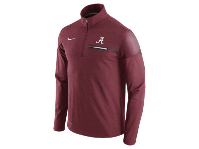 Alabama Crimson Tide Nike NCAA Men's Elite Coaches Half Zip Pullover