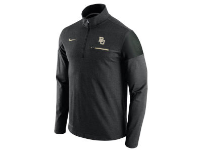 Baylor Bears Nike NCAA Men's Elite Coaches Half Zip Pullover