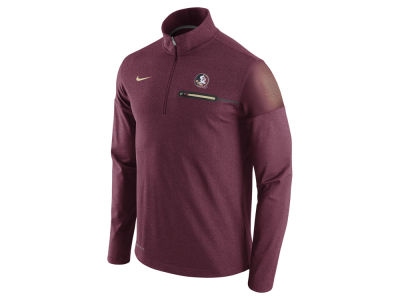 Florida State Seminoles Nike NCAA Men's Elite Coaches Half Zip Pullover