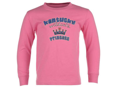 Kentucky Wildcats NCAA Toddler Girls Princess Long Sleeve T-Shirt