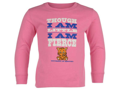 Kentucky Wildcats NCAA Toddler Girls Little and Fierce Long Sleeve T-Shirt