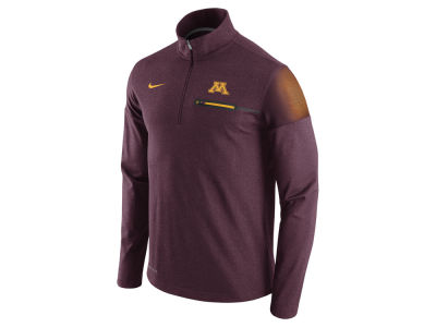 Minnesota Golden Gophers Nike NCAA Men's Elite Coaches Half Zip Pullover