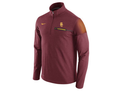 USC Trojans Nike NCAA Men's Elite Coaches Half Zip Pullover