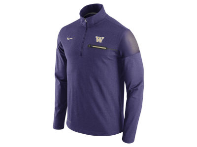 Washington Huskies Nike NCAA Men's Elite Coaches Half Zip Pullover