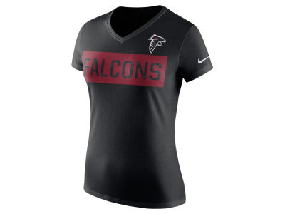 Atlanta Falcons Nike NFL Women's Tailgate V-Neck T-Shirt