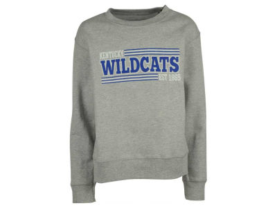 Kentucky Wildcats NCAA Youth Bar Stripe Mascot Crew Sweatshirt