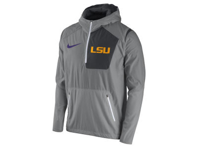 LSU Tigers Nike NCAA Men's Speed Fly Rush Pullover Hoodie Jacket