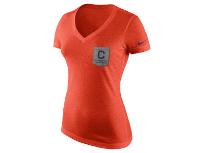 Clemson Tigers Nike NCAA Women's Tri Mid-V Pocket T-Shirt