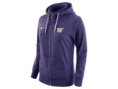 Washington Huskies Nike NCAA Women's Tailgate Gym Vintage Full Zip Hoodie