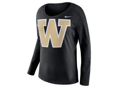 Washington Huskies Nike NCAA Women's Tailgate Long Sleeve Top