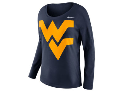 West Virginia Mountaineers Nike NCAA Women's Tailgate Long Sleeve Top